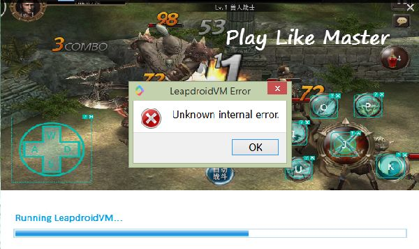 Leapdroid not working